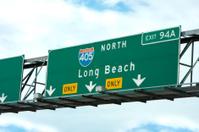California freeway sign