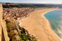 Nazaré, Praia, seen from Sítio