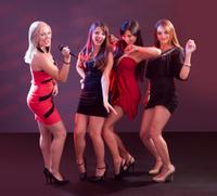Group of women dancing