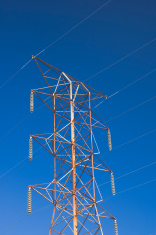 High Voltage Power Line Tower