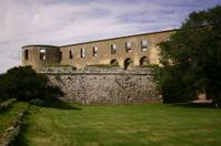 Borgholm castle ruins
