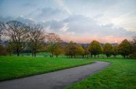 London, sunset from Primrose Hill