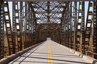 steel girdered bridge