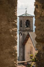 church in Sant' Agata, Piedmont