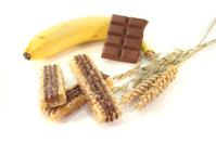 Chocolate banana muesli bar