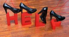 Help with walking in heels