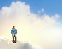 Woman in heaven