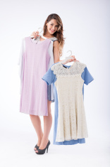 Showing dresses