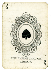 Ace of spades The Empire Card Company London