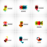 Company vector logo branding elements