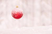 Winter Holiday, Christmas tree ball
