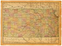 Kansas Old Map