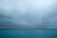 Hail storm on the horizon.
