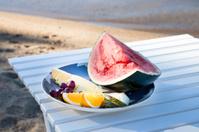 Refreshment on the beach