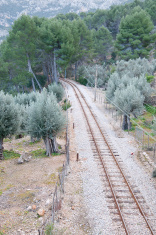 Soller train tracks