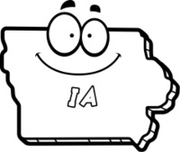 Cartoon Iowa