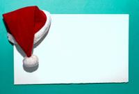 Poster Santa Claus Hat