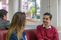 Turkish Students Enjoying Break, Secondary School, University, I