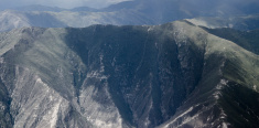 Mountain range in Tibet