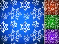 Snowflake Christmas Pattern
