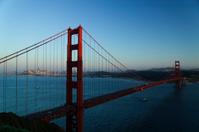 Tug Under Golden Gate