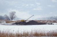 Surrounded excavator