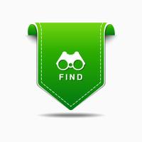Find  Green Vector Icon Design