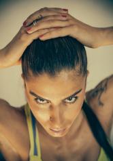 Brunette Fitness Buff