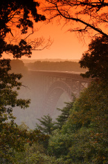 New River Gorge Bridge Sunset