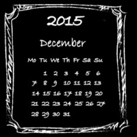 Calendar 2015 December