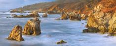 Big Sur Coastline Panorama