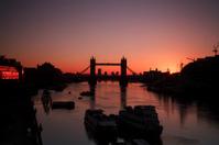 Sunrise At Tower Bridge, London