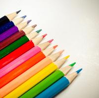 Colour pencil.