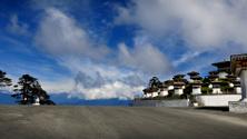 Stupas, Douchula Pass, Buthan