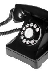 Retro Phone Close-up