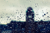 Rainy days,Rain drops on window