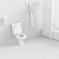 3d toilet.