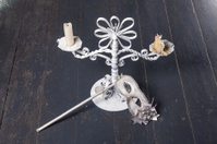 Carnival mask and candle holder