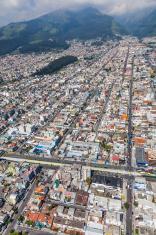 Quito, calles Cuero y Caicedo, Selva Alegre, Las Casas