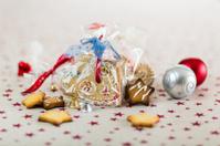Christmas cookies and Christmas tree bowls