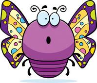 Surprised Little Butterfly
