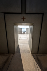 exit the church