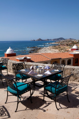 Table with a great view in Cabo San Lucas