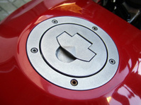 red fuel tank