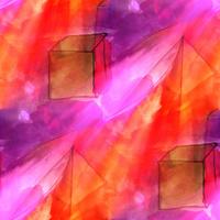 art light orange, purple background texture watercolor seamless