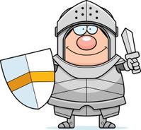 Cartoon Knight Sword