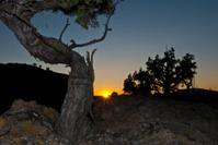 Warner Mountains Sunset