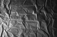 Wrinkled black texture