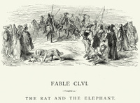 La Fontaine's Fables - Rat and the Elephant