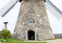 Medieval windmill, Cesis, Latvia, Europe